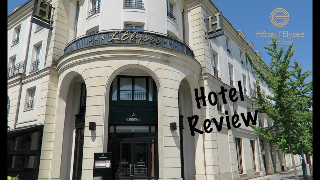 L'Hôtel l'Elysée Val d'Europe proche de Disneyland Paris